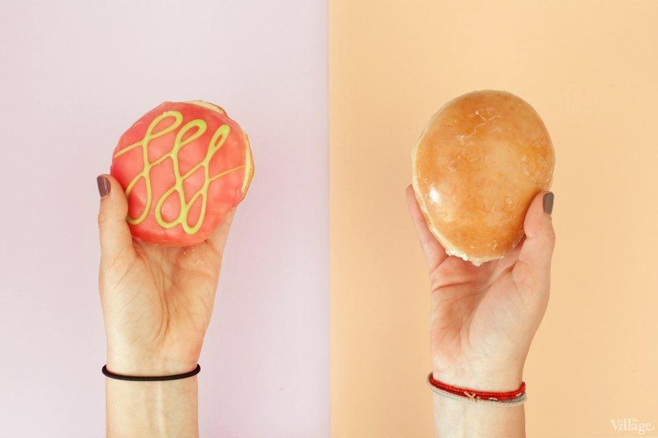 Пончики с малиновой начинкой. Изображение № 5.