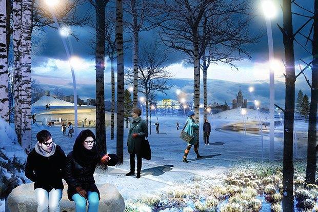 На территории будущего парка «Зарядье» появится интерактивный павильон. Изображение № 2.