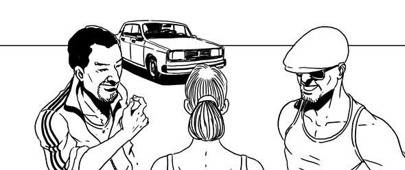 Эксперимент The Village: Как обманывают таксисты. Изображение № 3.