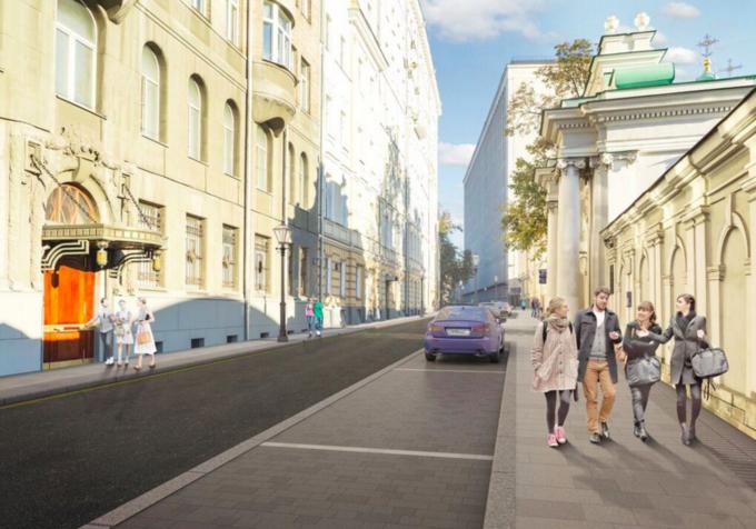 Визуализация реконструкции Тверской улицы. Изображение № 6.
