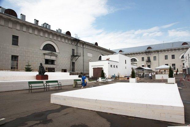 Проект двора в Провиантских складах. Изображение № 33.