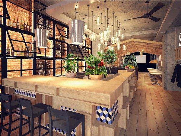 На Адмиралтейском откроется первый ресторан сети «Оливье». Изображение № 1.
