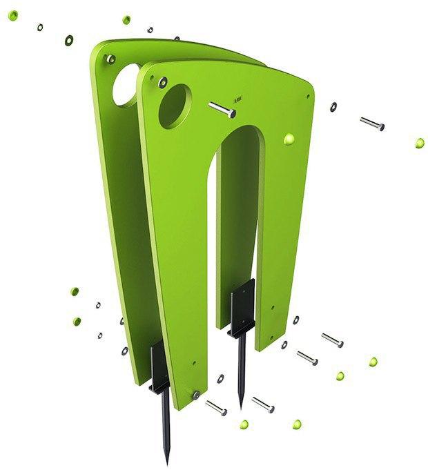 «Студия Лебедева» разработала дизайн велопарковок. Изображение № 4.