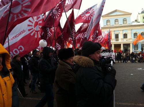 Онлайн-трансляция: Шествие и митинг «За честные выборы». Изображение № 82.