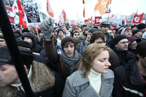 Фоторепортаж: Митинг против фальсификации выборов. Изображение № 29.