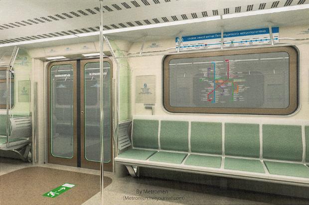 Дизайнеры предложили Метрополитену проект новых вагонов. Изображение № 4.