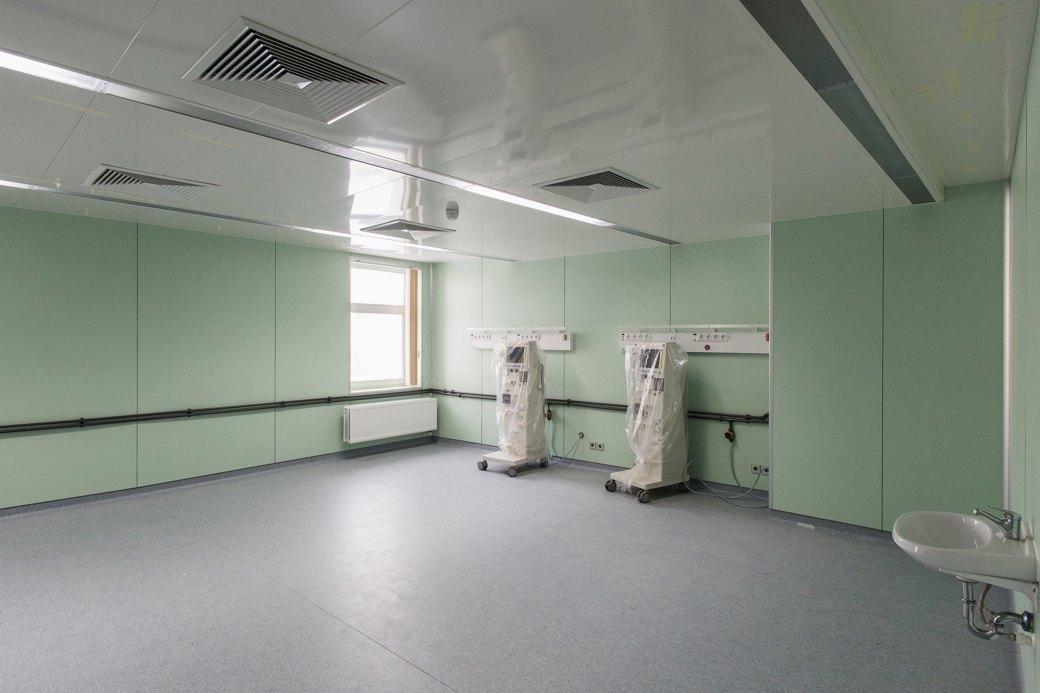 Как выглядит самая большая вРоссии инфекционная больница . Изображение № 11.