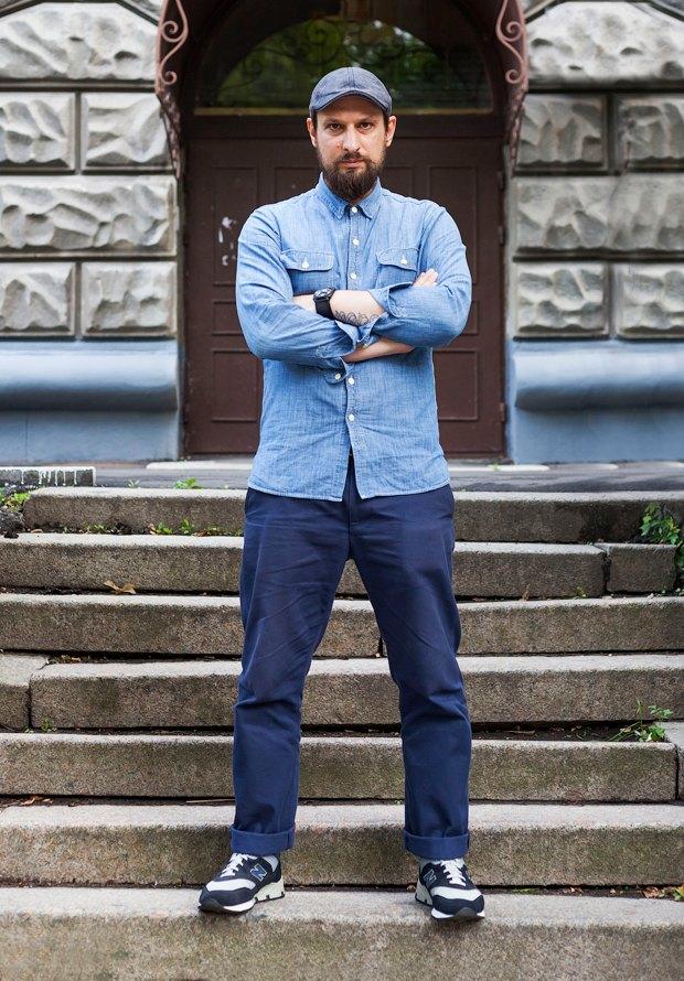 Внешний вид (Киев): Евгений Рыбковский, сооснователь магазина «Остров». Изображение № 1.