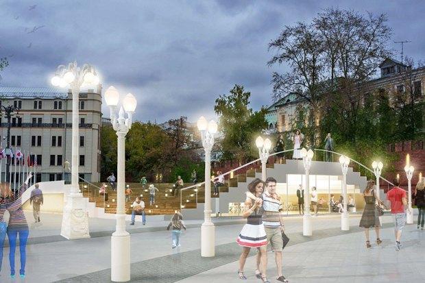 Wowhaus разработали проекты реконструкции московских площадей. Изображение № 3.