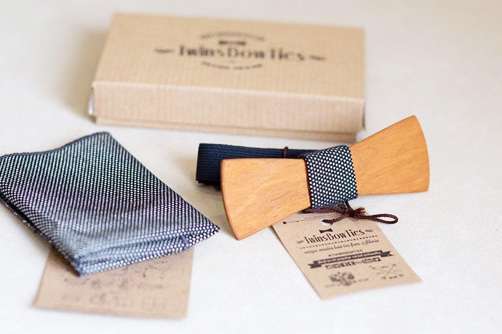 Twins Bow Ties: Какпродавать деревянные бабочки повсему миру. Изображение № 1.