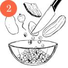 Рецепты шефов: Окрошка с олениной на имбирном квасе. Изображение № 4.
