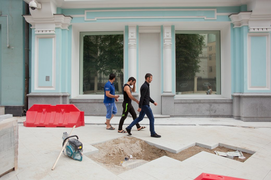 Её раскопали: Пешеходные улицы Москвы за месяц до открытия. Изображение № 8.