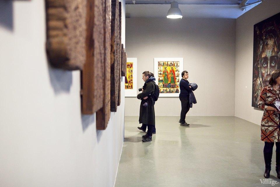 Люди в городе: Первые посетители выставки Icons в Петербурге. Изображение № 10.