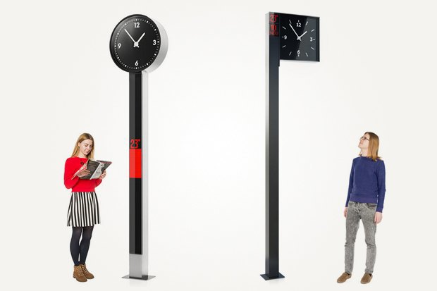 «Студия Лебедева» разработала дизайн городских часов. Изображение № 3.