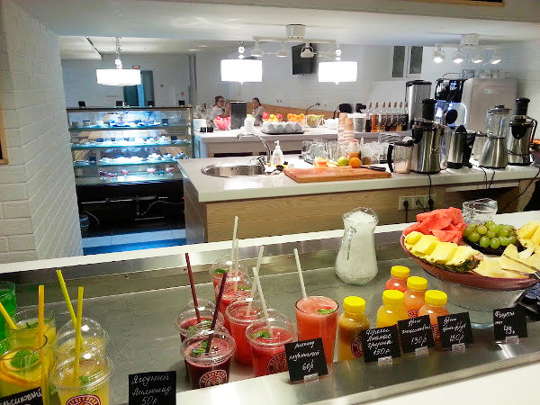 При паспортно-визовом центре на Новослободской открылось кафе. Изображение № 5.