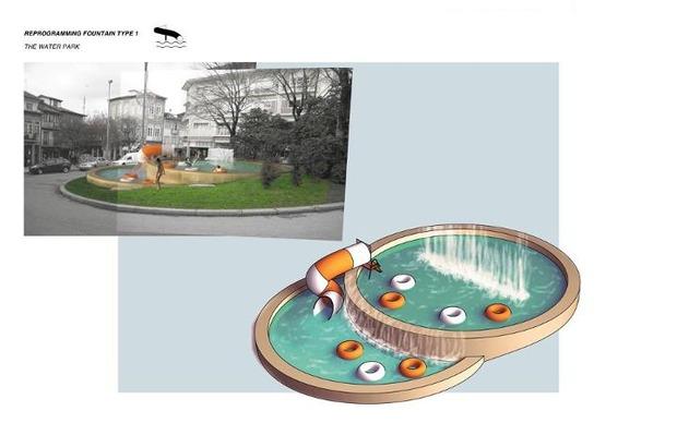 Идеи для города: Общественные бассейны в фонтанах. Изображение № 5.