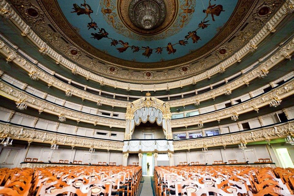 Фоторепортаж: Вторая сцена Мариинского театра изнутри. Изображение № 48.