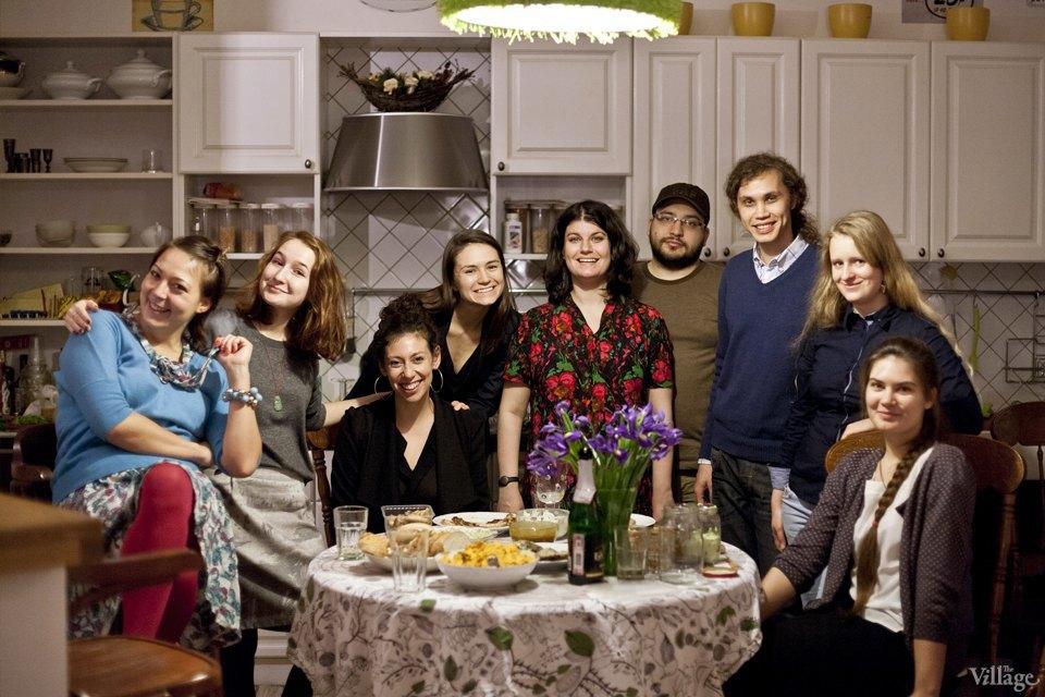 Посетители первого ужина EatWith в Москве. Изображение № 8.