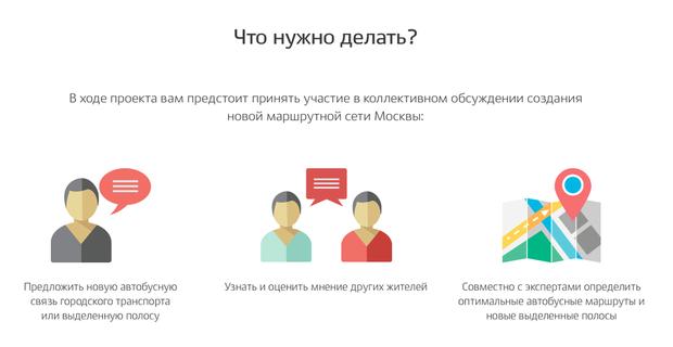 Чиновники просят москвичей помочь вразработке новой сети общественного транспорта. Изображение № 1.