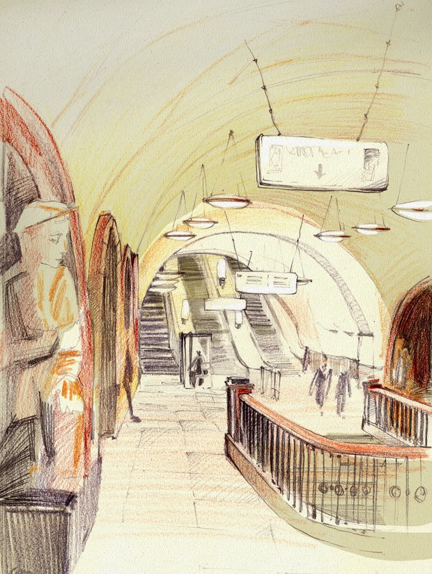Клуб рисовальщиков: Метро. Изображение № 10.