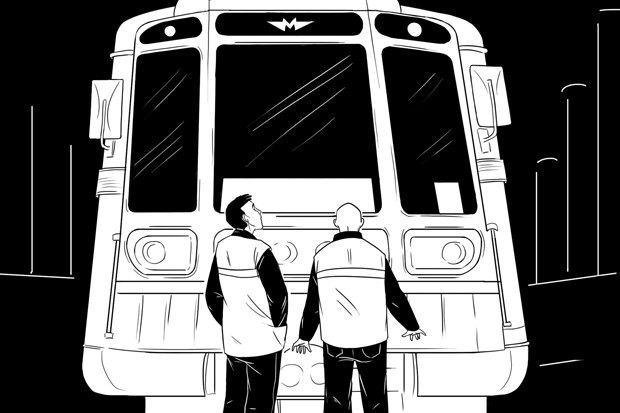Как всё устроено: Обходчик путей в метро. Изображение № 1.