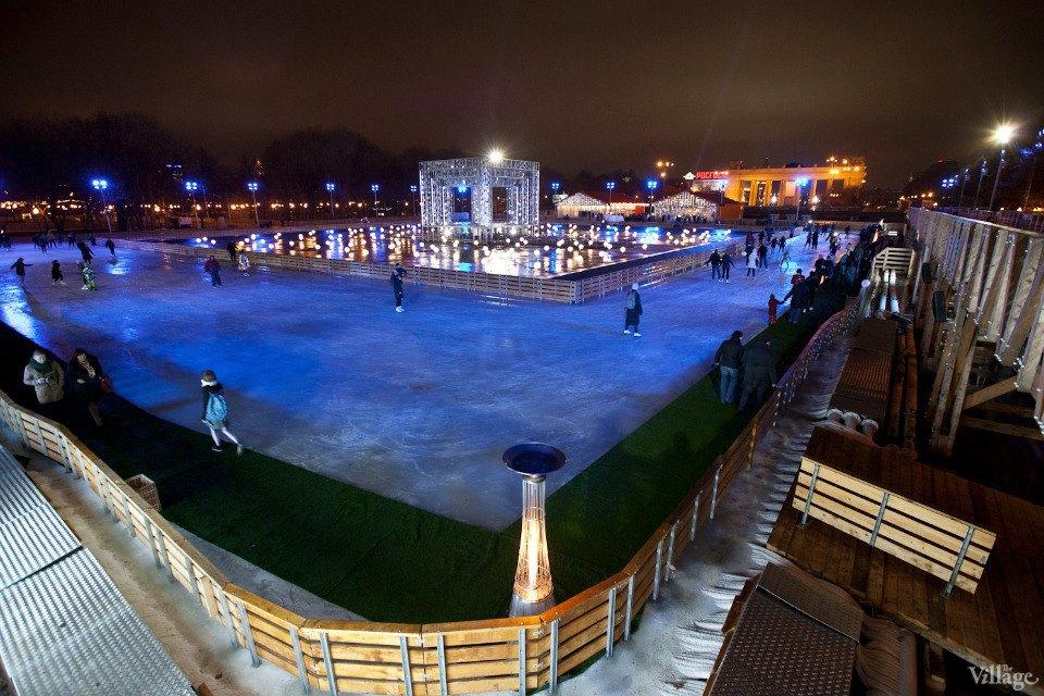 Люди в городе: Первые посетители катка в парке Горького. Изображение № 26.