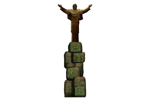 Церетели предложил установить вПетербурге 33-метровую статую Иисуса Христа. Изображение № 1.
