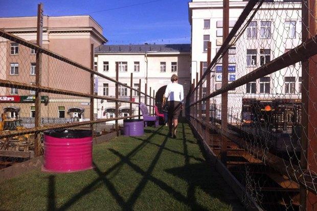 На Соколе построили парк намосту. Изображение № 1.