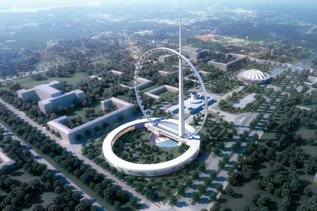 Самое высокое в мире колесо обозрения построят на Вернадского. Изображение № 1.