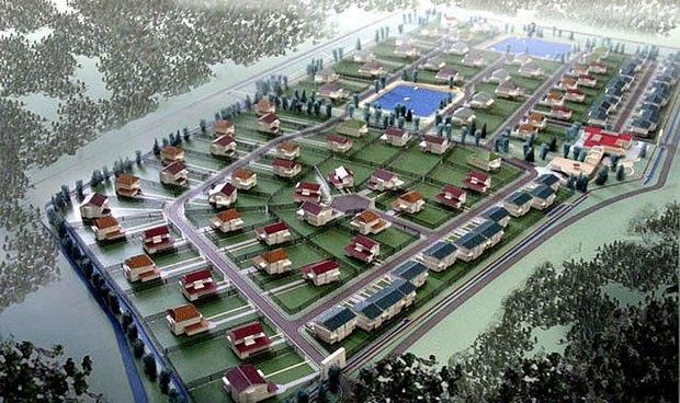 Проект коттеджного посёлка на месте Баболовского парка. Изображение № 1.
