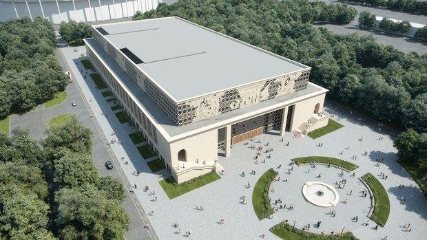 Объявлен победитель конкурса на концепцию реконструкции бассейна «Лужники». Изображение № 1.