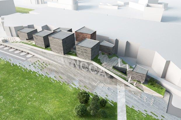 Три проекта нового здания ГЦСИ. Изображение № 7.