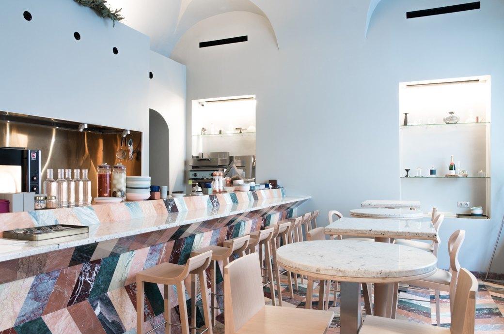 Кафе-бар «Искра» на Покровке. Изображение № 3.