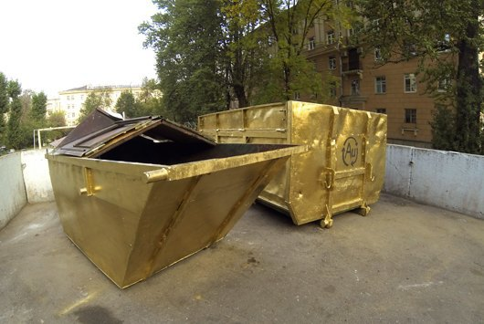 Золотые мусорные баки . Изображение № 2.