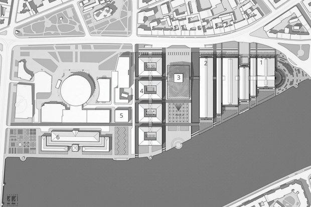 Суд идёт: четыре проекта квартала на месте «Набережной Европы». Изображение № 24.