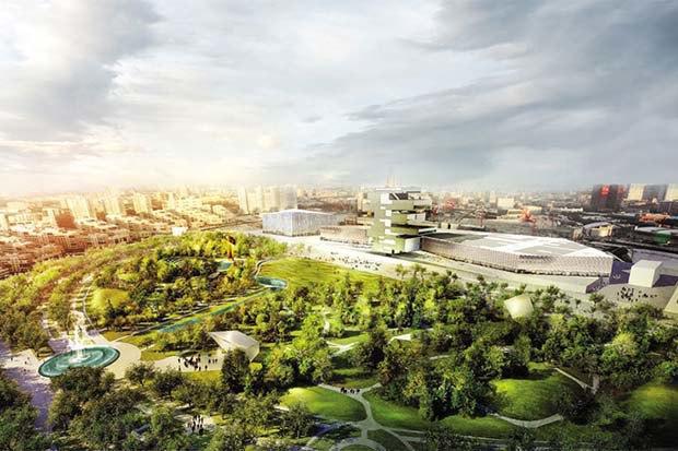 Парк «Ходынское поле» построят попроекту LAND Milano Srl.. Изображение № 3.