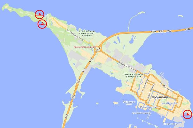 Предполагаемая локализация новых и реконструируемых пляжных рекреационных зон. Изображение № 25.