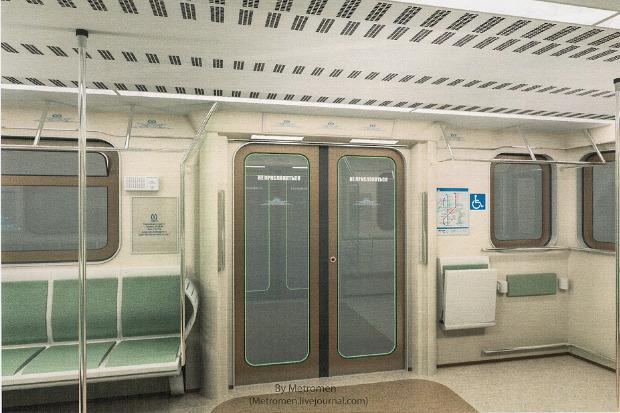 Дизайнеры предложили Метрополитену проект новых вагонов. Изображение № 5.