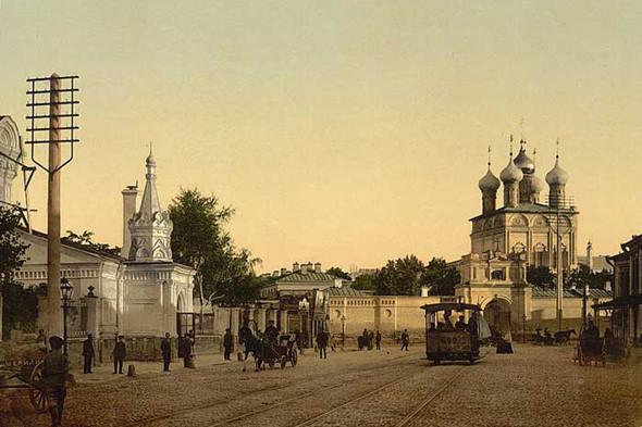 Малая Дмитровка и Страстной монастырь.. Изображение № 3.