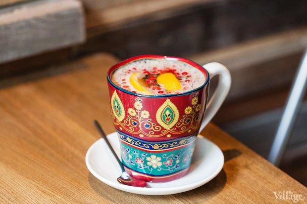 Горячий брусничный напиток с апельсином — 120 рублей. Изображение № 18.