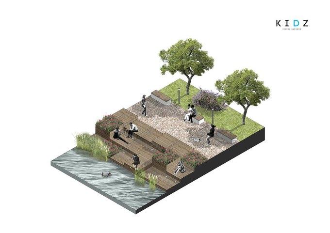 Коллектив Kidz разработает дизайн-концепцию для парка Городов-Героев. Изображение № 1.