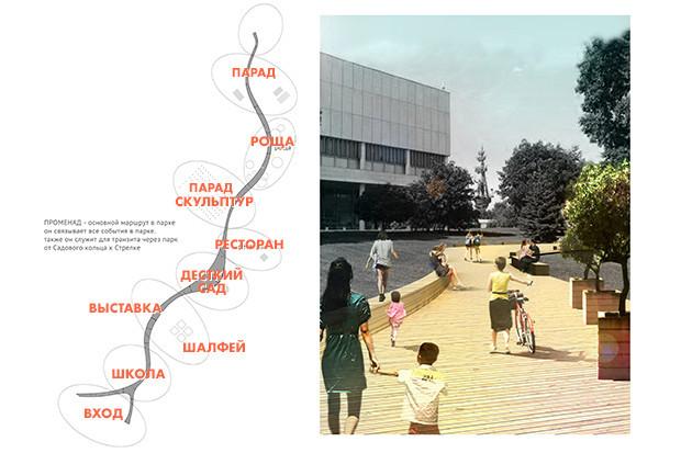 На карте — названия площадок, на которых в будущем появится что-то, соответствующее названию. Изображение № 4.