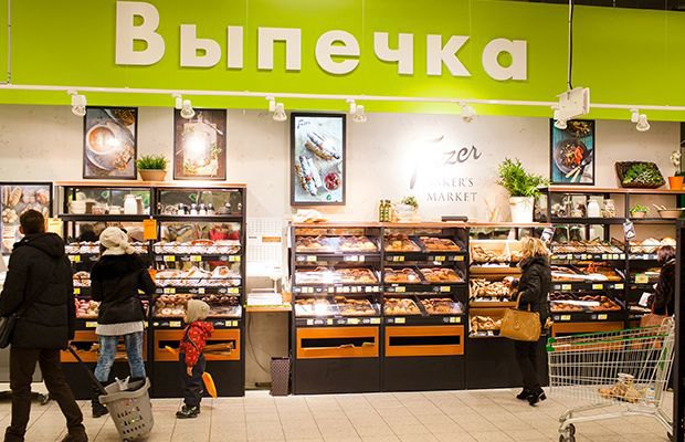 В двух супермаркетах Prisma появились пекарни Fazer. Изображение № 1.