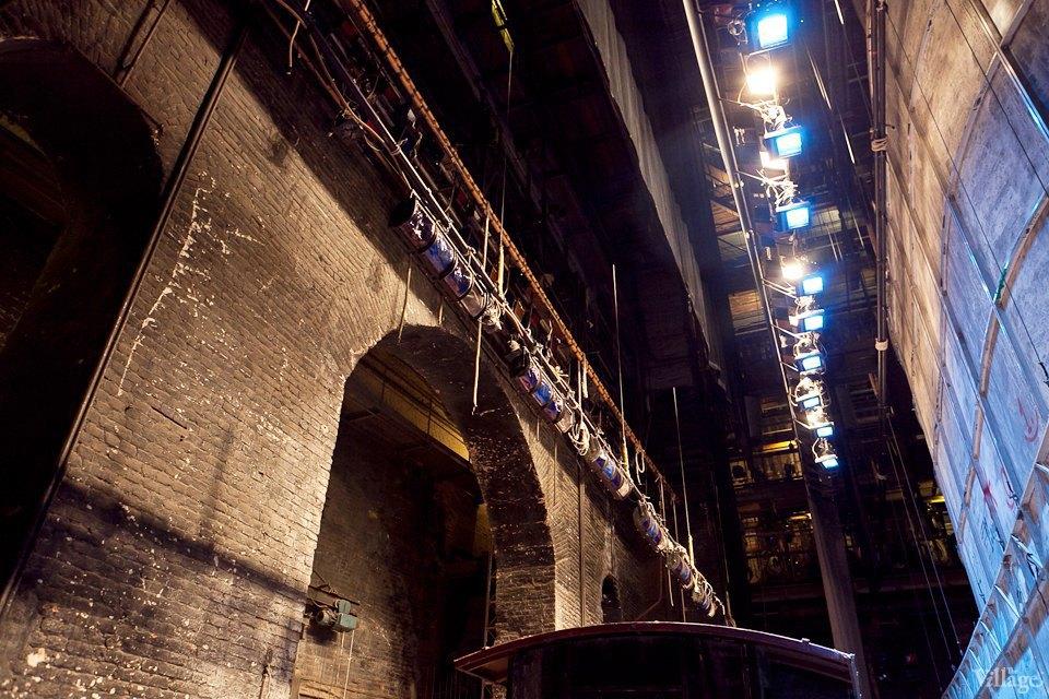Фоторепортаж: Вторая сцена Мариинского театра изнутри. Изображение № 38.