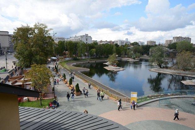 Старая территория московского зоопарка после реконструкции. Изображение № 2.