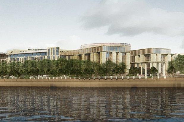 Суд идёт: четыре проекта квартала на месте «Набережной Европы». Изображение № 17.