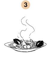 Рецепты шефов: Спагетти «Фрутти ди Маре». Изображение № 8.