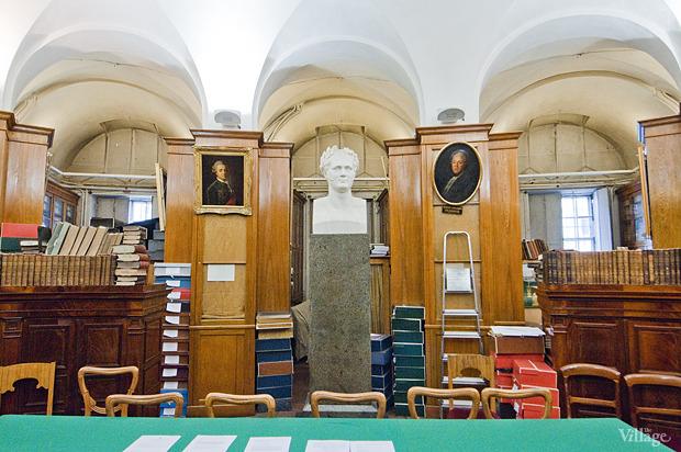 Зал с ценными изданиями и рукописями. Изображение № 16.