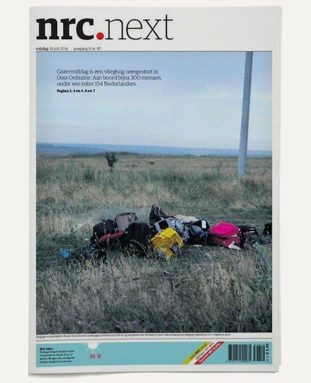 Авиакатастрофа под Донецком на первых полосах газет. Изображение № 10.