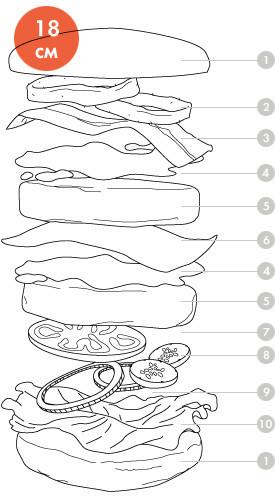 Между булок: Что внутри у самых больших московских бургеров, часть 2. Изображение № 94.